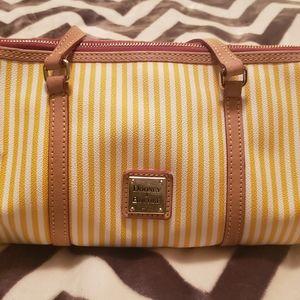 Dooney & Burke Yellow Barrel Handbag